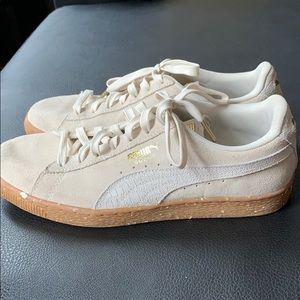 Puma Cream Shoes